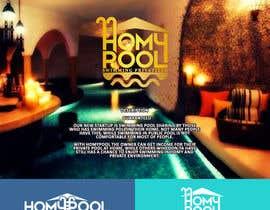nº 313 pour Design a Logo for HOMYPOOL par sinzcreation