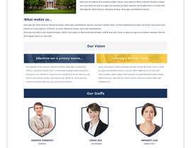 nº 25 pour Design a Website Mockup for International School par greenarrowinfo