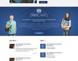 nº 38 pour Design a Website Mockup for International School par webidea12