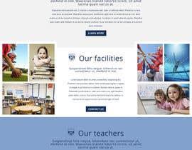 nº 48 pour Design a Website Mockup for International School par jbesclapez