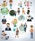 Graphic Design Kilpailutyö #4 kilpailuun Create 20 cartoon avatar
