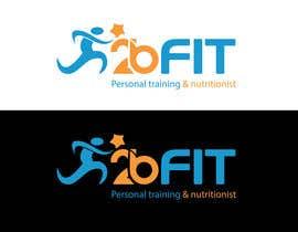 nº 22 pour 2BFit Personal training & nutritionist logo design par chandanjessore