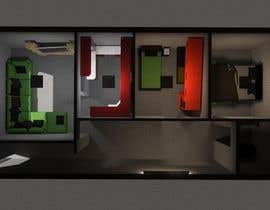 #8 for Interior design using floorplan by Catzcaw
