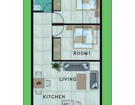 #7 for Interior design using floorplan by SpaceLifeAD