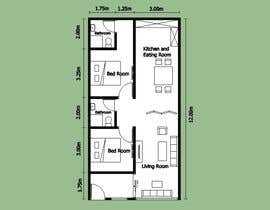 #12 for Interior design using floorplan by suwantoes