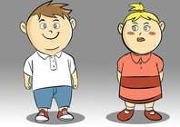 Proposition n° 40 du concours Graphic Design pour Create an adorable cartoon characters
