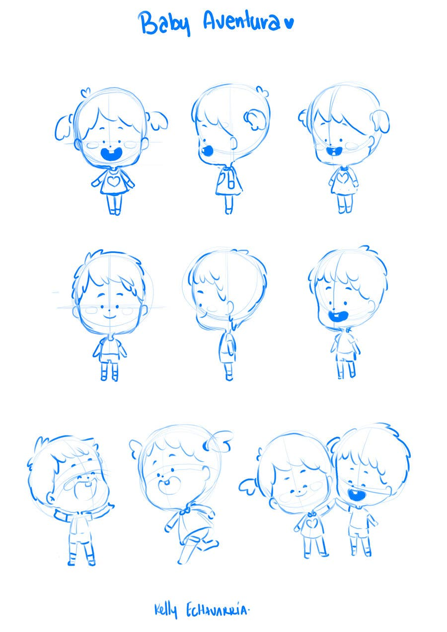 Proposition n°29 du concours Create an adorable cartoon characters