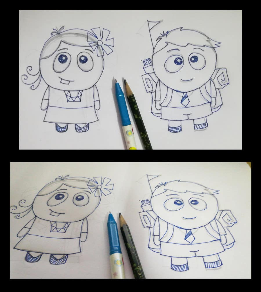 Proposition n°56 du concours Create an adorable cartoon characters