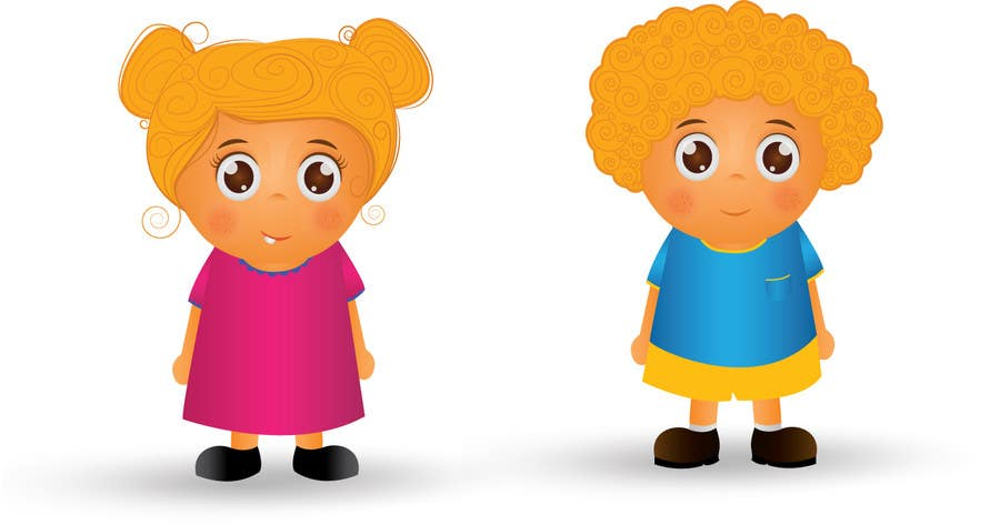 Proposition n°58 du concours Create an adorable cartoon characters