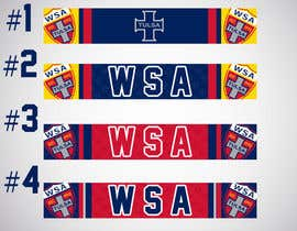 nº 12 pour Design A Scarf for WSA Soccer Club par KallasDesign