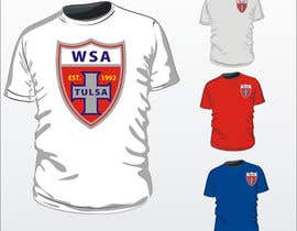 nº 29 pour Design a T-Shirt for Soccer Club par adz7100