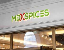 "nº 54 pour LOGO FOR INDIAN SPICE SHOP ""MD SPICES"" par sumandebnath0162"