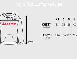 nº 14 pour Design Clothing Size Chart par hirafirdous