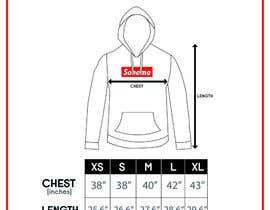 nº 13 pour Design Clothing Size Chart par fadhilsalimi