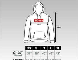 nº 18 pour Design Clothing Size Chart par fadhilsalimi