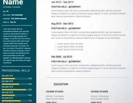 nº 17 pour Australian One Page Resume par jhosser