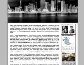 Nro 31 kilpailuun Design a flyer, only one page käyttäjältä papri802030
