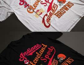 nº 26 pour Cleveland Sports T-Shirt Illustration par Exer1976