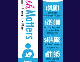 #38 for Design a Brochure - BirthMatters ROI Bookmark by jrayhan