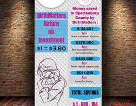 #46 for Design a Brochure - BirthMatters ROI Bookmark by sifatmirza1311