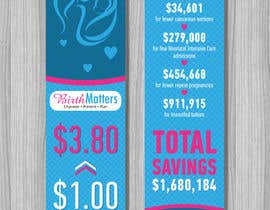 #20 for Design a Brochure - BirthMatters ROI Bookmark by fler