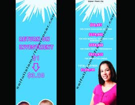 #43 for Design a Brochure - BirthMatters ROI Bookmark by saifulislam4