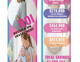 #30 for Design a Brochure - BirthMatters ROI Bookmark by nazninshaon