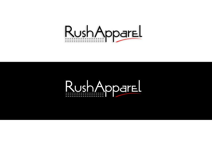Proposition n°63 du concours Brand Logo for Rush Apparel
