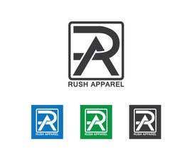nº 70 pour Brand Logo for Rush Apparel par sakibongkur