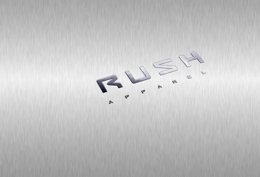 Proposition n°10 du concours Brand Logo for Rush Apparel
