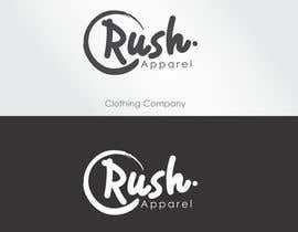 nº 14 pour Brand Logo for Rush Apparel par reyryu19