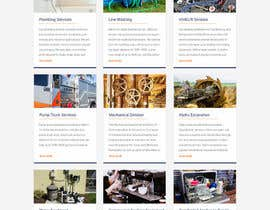 #15 for Design a Website Mockup for Mechanical Service and Repair Contractor by saidesigner87