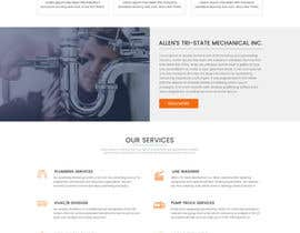 #27 for Design a Website Mockup for Mechanical Service and Repair Contractor by sudpixel