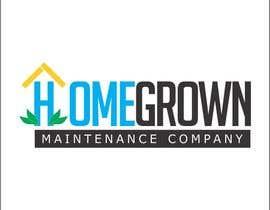 #68 para Design a Logo for Homegrown Maintenance por javierlizarbe