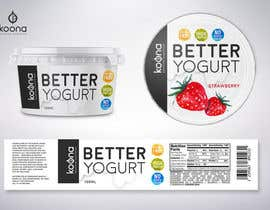 #95 for Packaging design for innovative yogurt by suthemeny