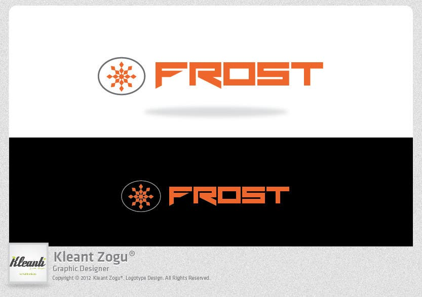 Inscrição nº 235 do Concurso para Logo Design for Frost