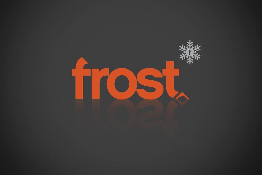 Конкурсная заявка №9 для Logo Design for Frost