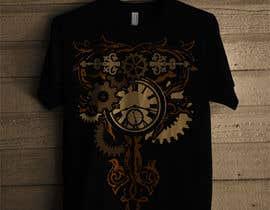 nº 6 pour Steampunk T-Shirt Design par gicaandgnjida