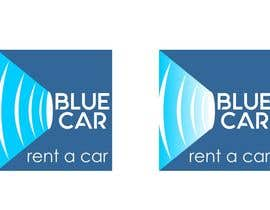 nº 118 pour Design a rent a car logo: Blue Car par gbeke