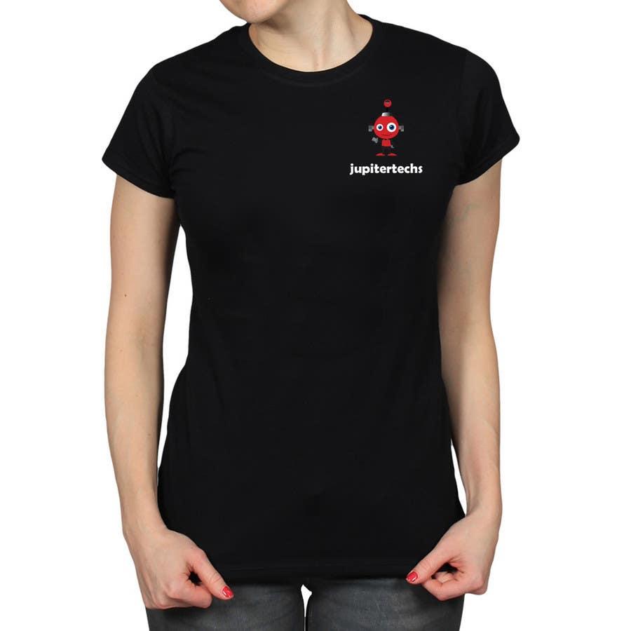 Proposition n°5 du concours Design a FUNNY TECH T-Shirt