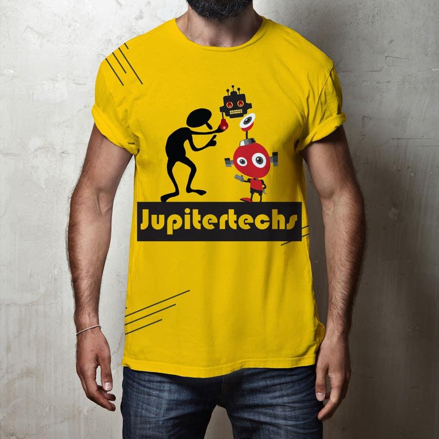 Proposition n°13 du concours Design a FUNNY TECH T-Shirt