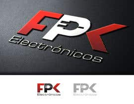 #55 for Logo Design for FPK Electrónicos by flov