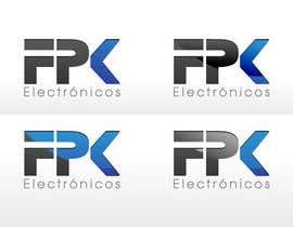 #75 pentru Logo Design for FPK Electrónicos de către logoforwin