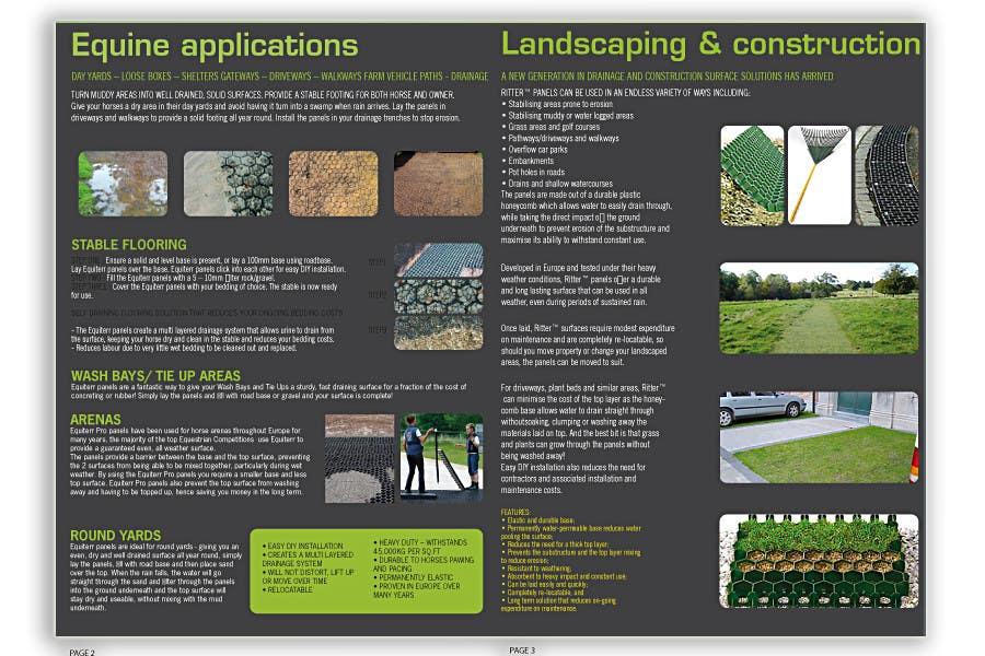 Wettbewerbs Eintrag #16 für Brochure Design for Galahad Group Pty Ltd