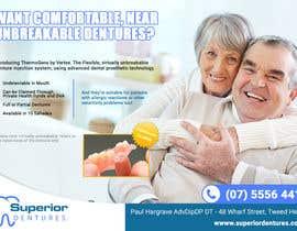 Nro 16 kilpailuun Design an Denture Clinic Advertisement käyttäjältä vmuratarslan