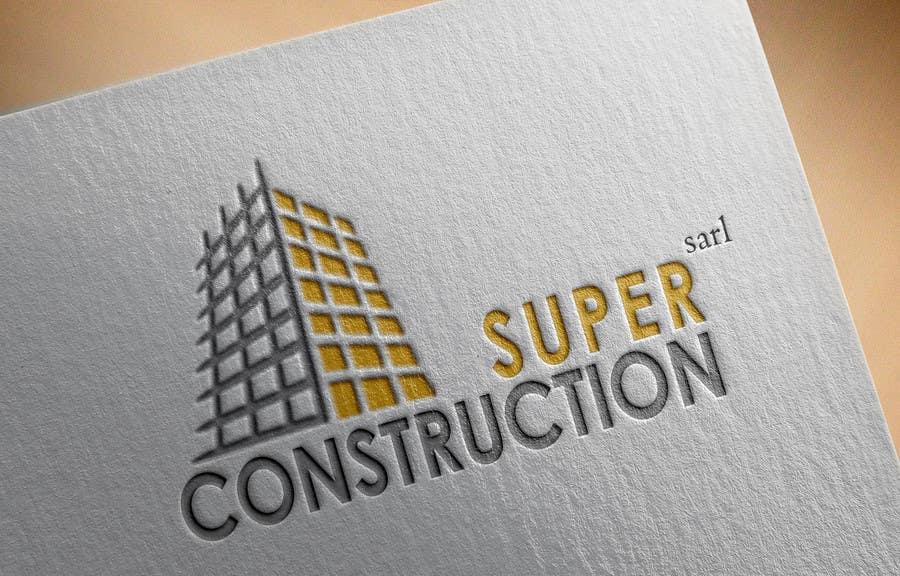 Proposition n°17 du concours Design a Logo for Super Construction