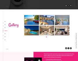 nº 9 pour Parallax web design for women brunch & pampering experience. par dotfusiontech