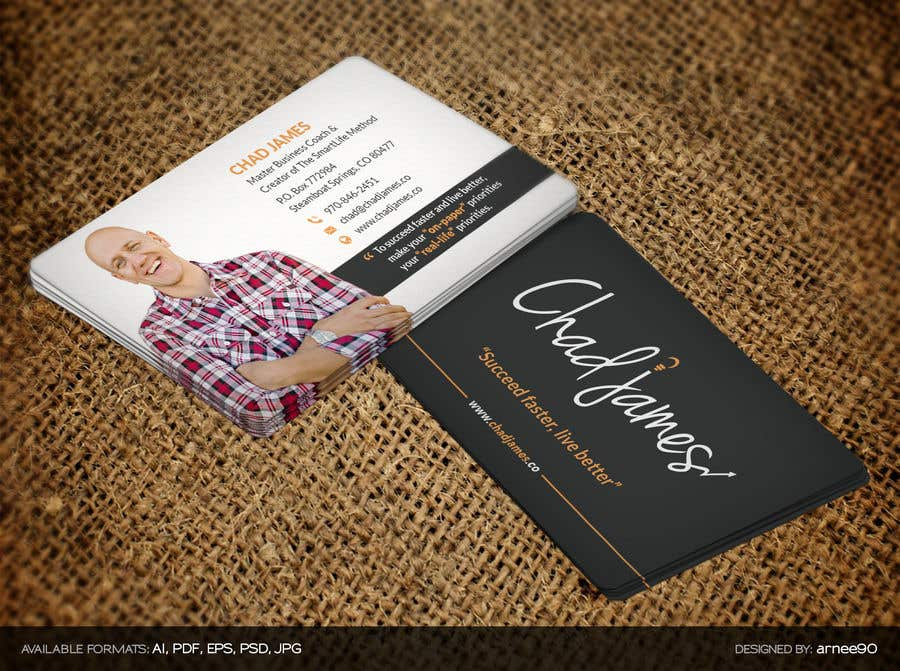 Entry 41 by arnee90 for business cards for business coach freelancer contest entry 41 for business cards for business coach reheart Choice Image