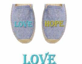#17 for TYPOGRAPHY EMROIDERY FOR A CANVAS SHOES by mohammadArif200