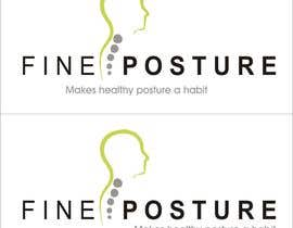 nº 31 pour Design a Logo for start up - FINE POSTURE par MagdaDm